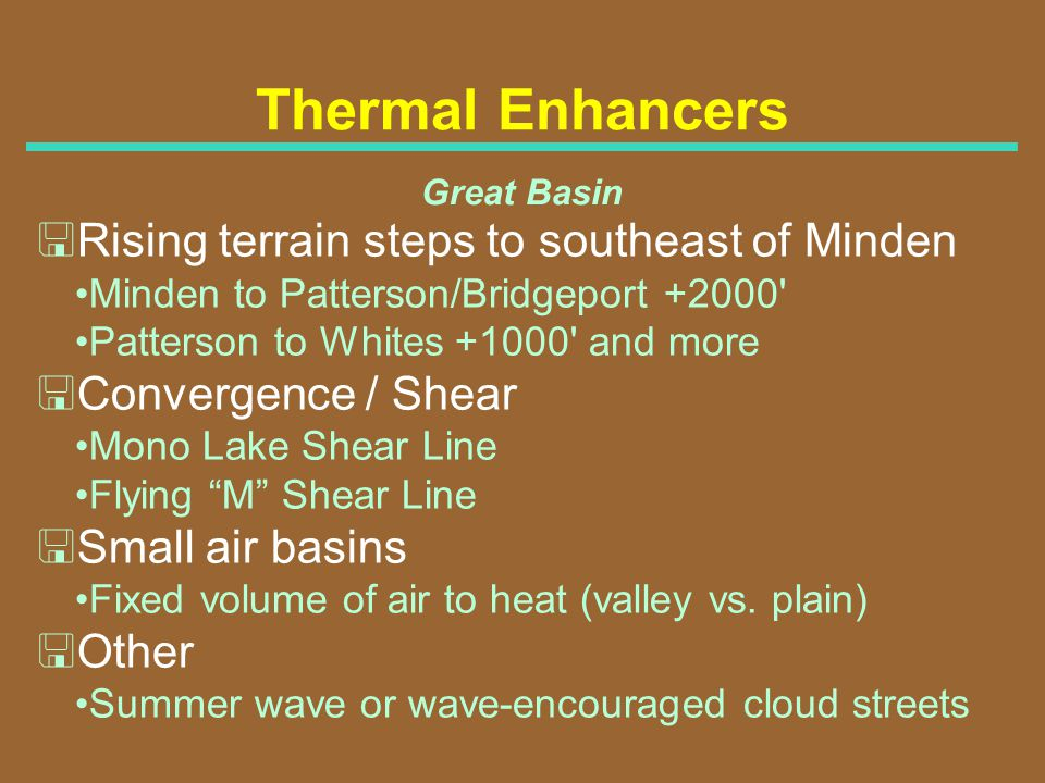 Thermal Enhancers <Rising terrain steps to southeast of Minden
