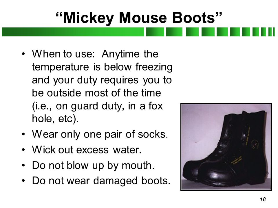 Mickey Mouse Boots
