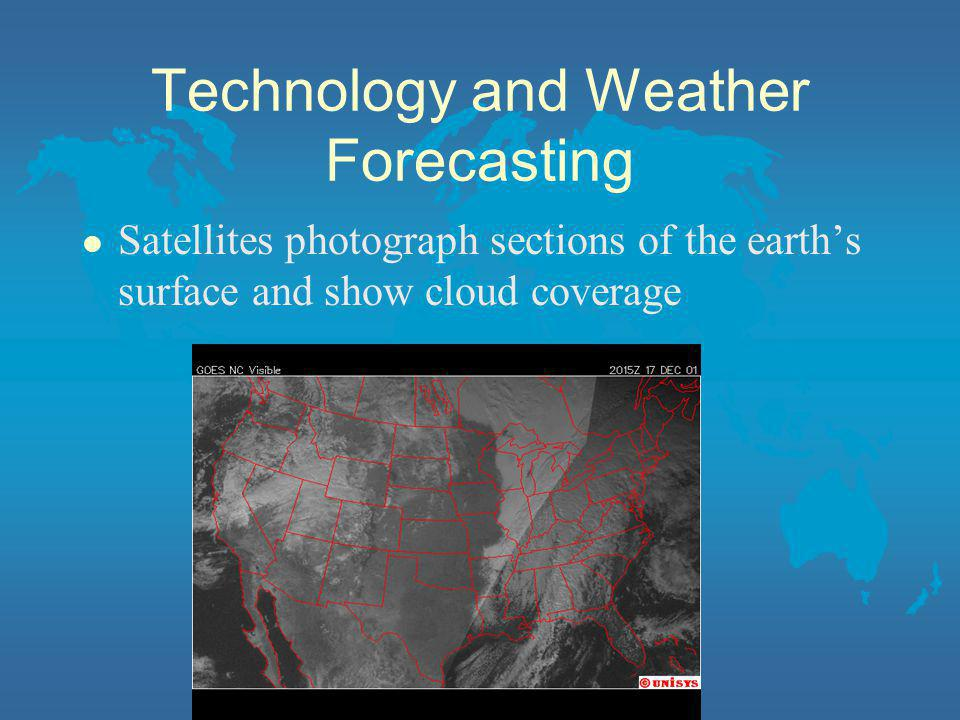 Technology and Weather Forecasting