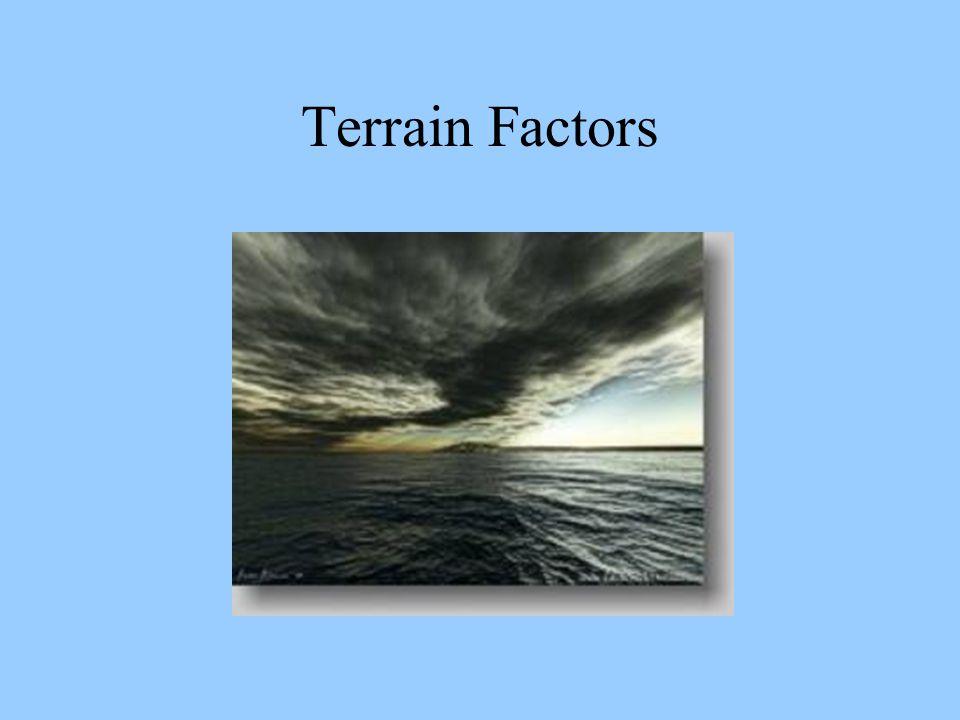 Terrain Factors