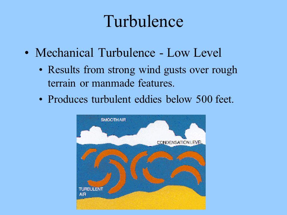 Turbulence Mechanical Turbulence - Low Level