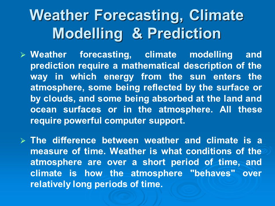 difference between forecasting and prediction pdf