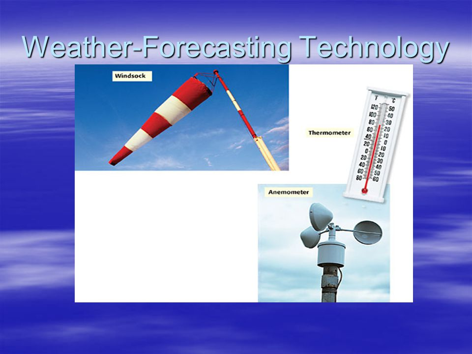 Weather-Forecasting Technology