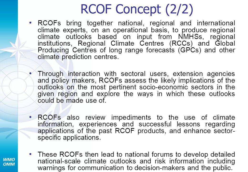 RCOF Concept (2/2)