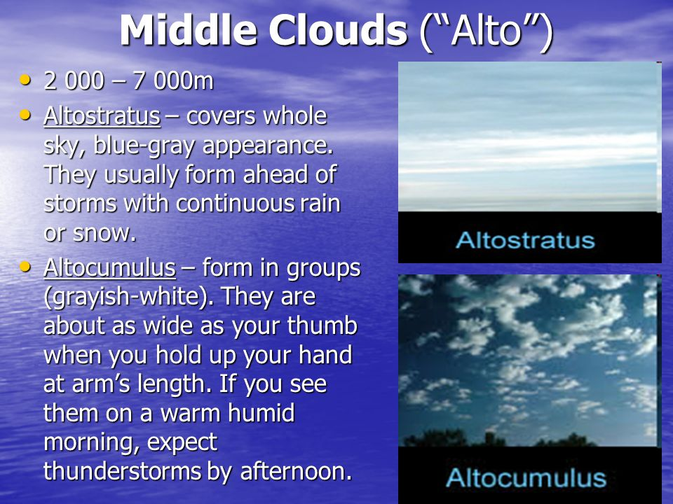 Middle Clouds ( Alto )