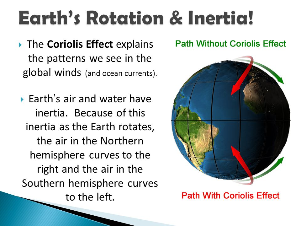 Earth's Rotation & Inertia!