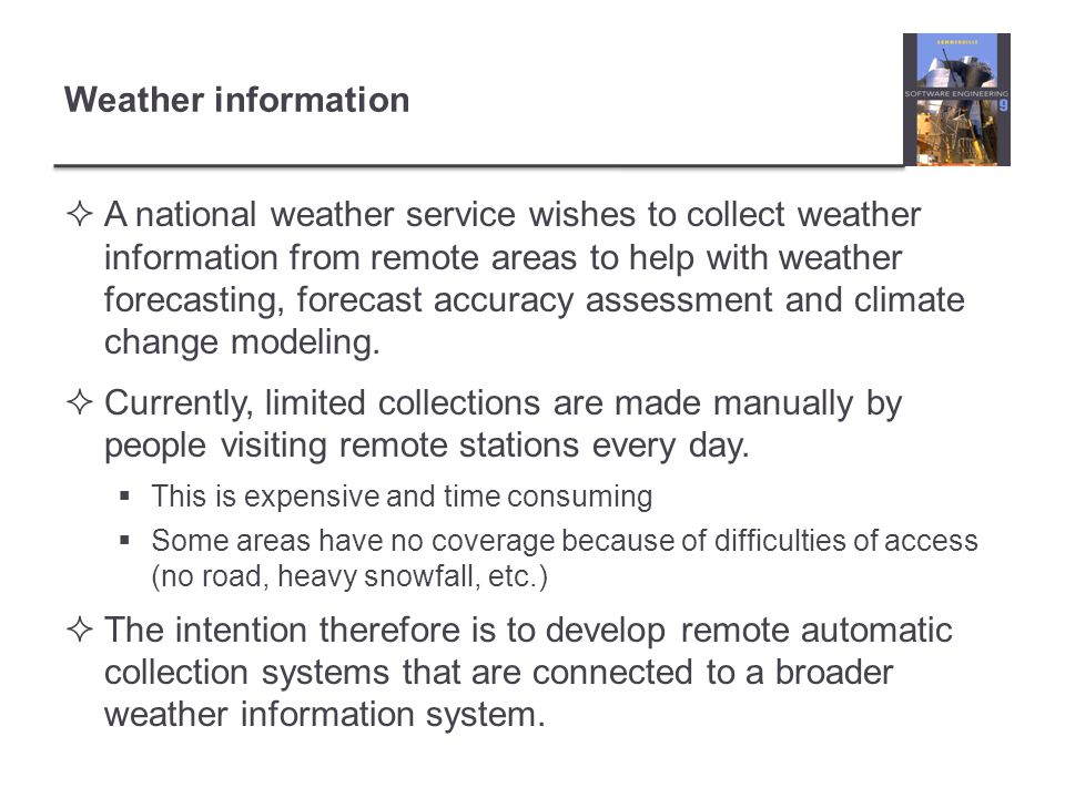 Weather information