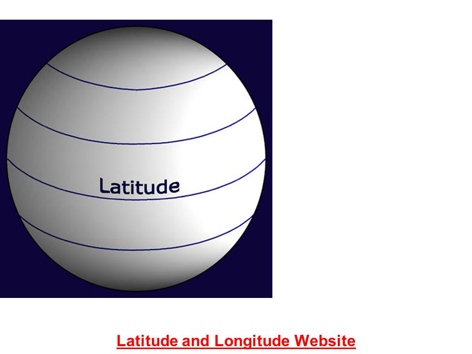 Latitude and Longitude Website