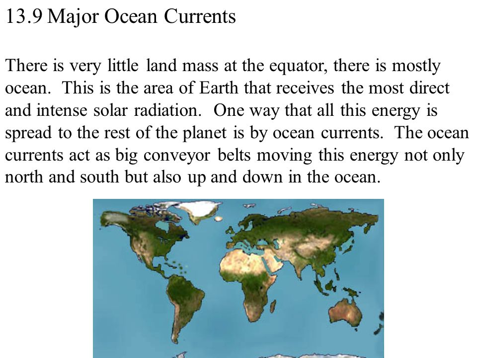 13.9 Major Ocean Currents