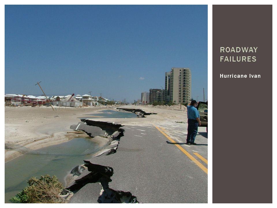 Roadway Failures Hurricane Ivan