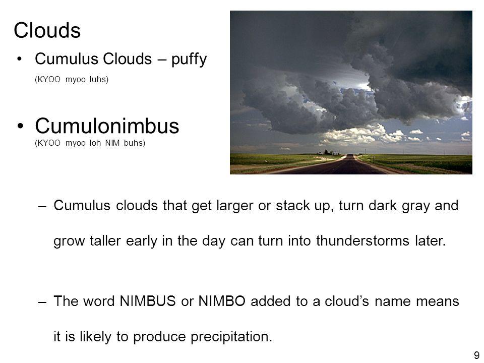 Cumulonimbus (KYOO myoo loh NIM buhs)