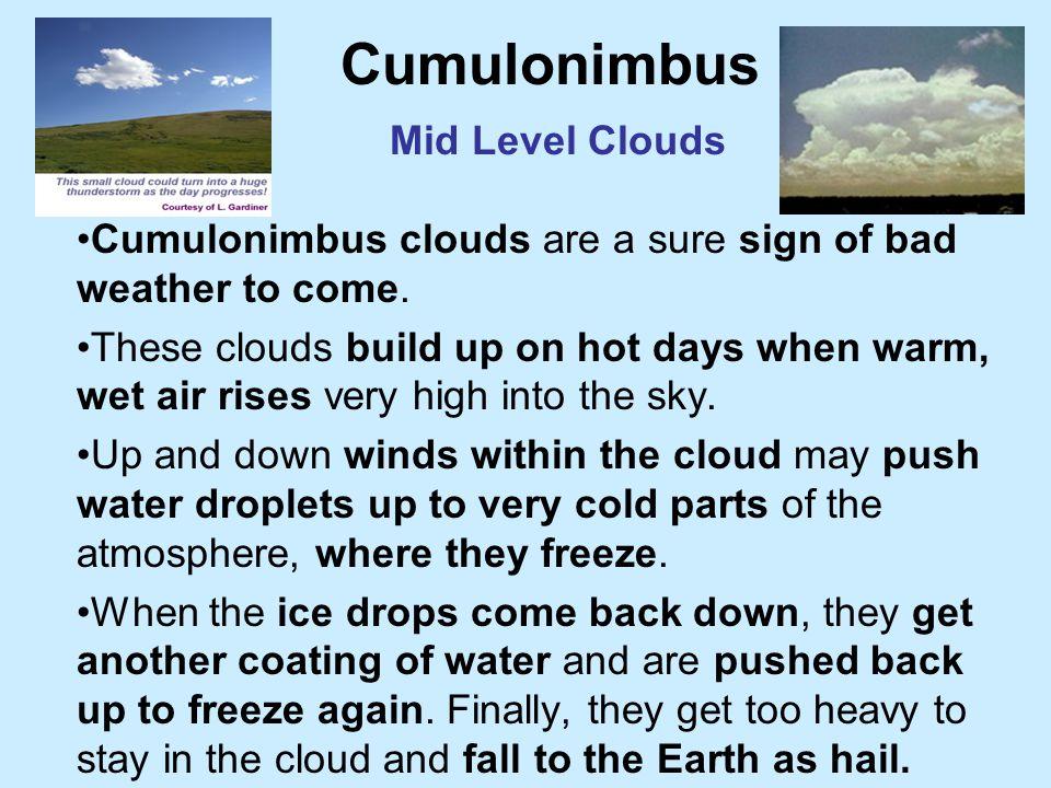 Cumulonimbus Mid Level Clouds
