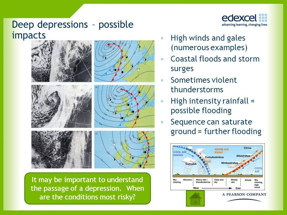 Deep depressions – possible impacts