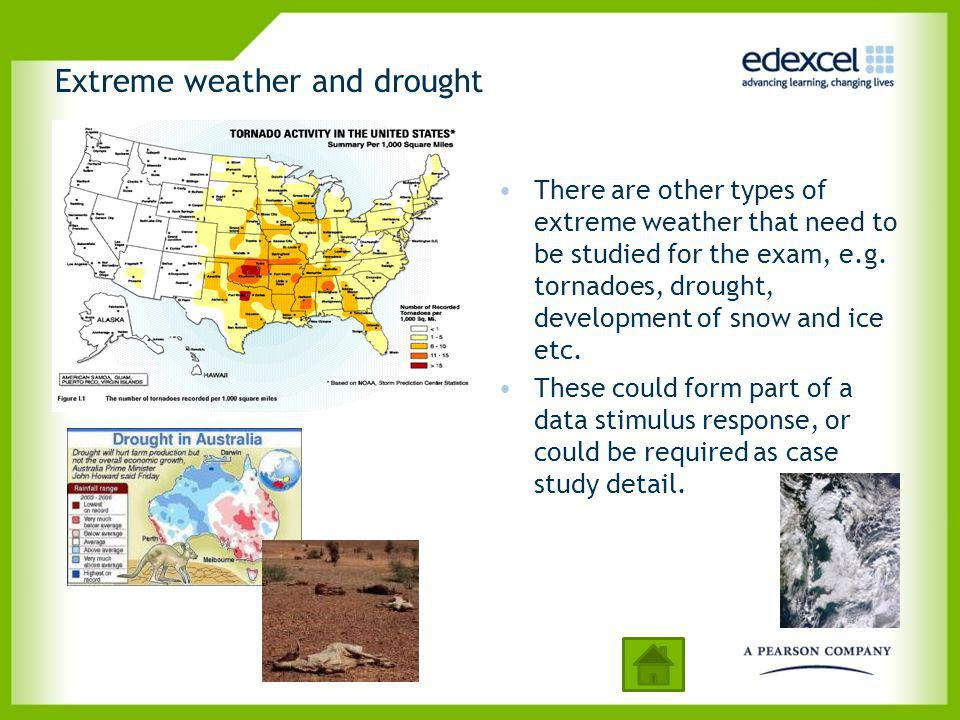 Extreme weather and drought
