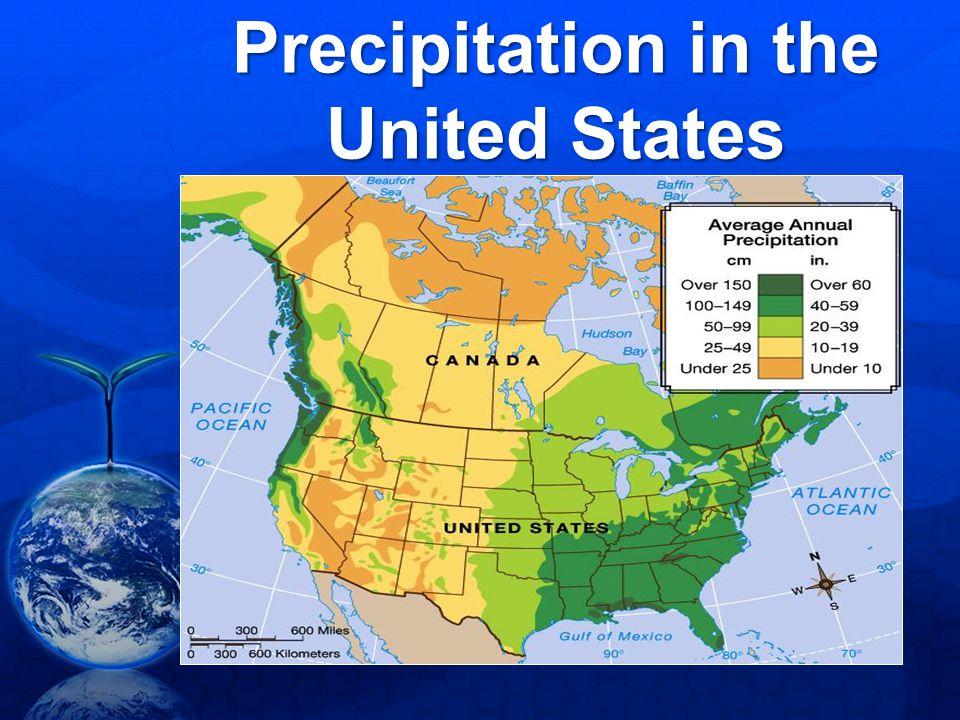 Precipitation in the United States