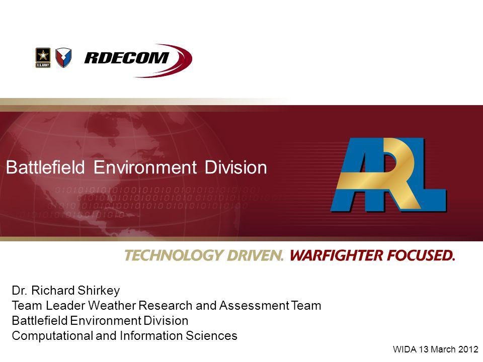 Battlefield Environment Division