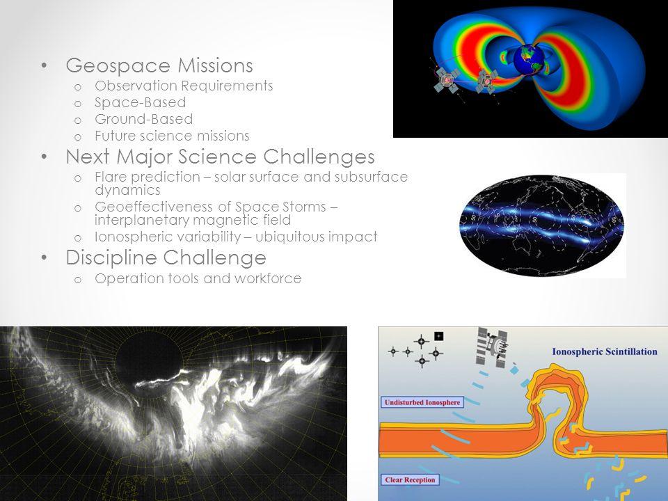 Next Major Science Challenges