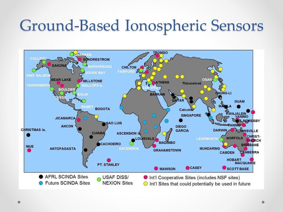 Ground-Based Ionospheric Sensors