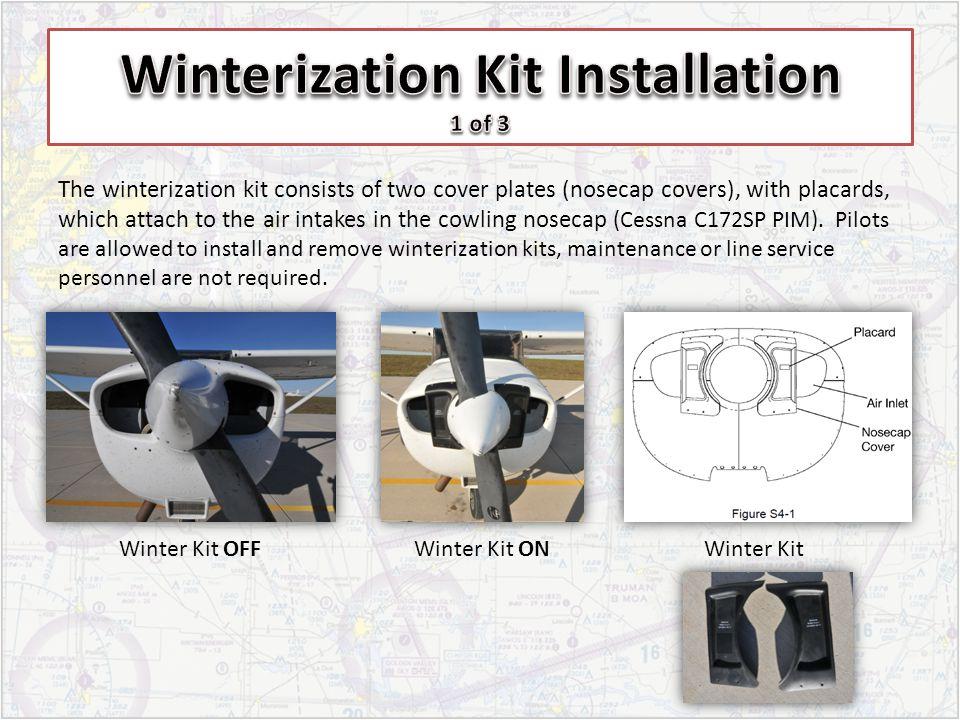 Winterization Kit Installation 1 of 3