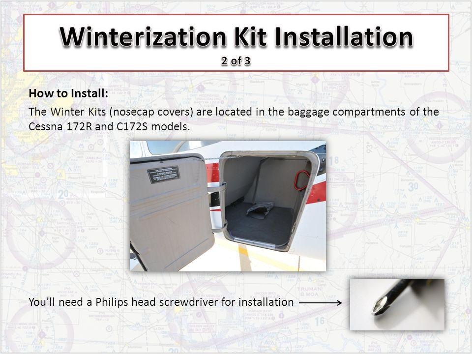 Winterization Kit Installation 2 of 3