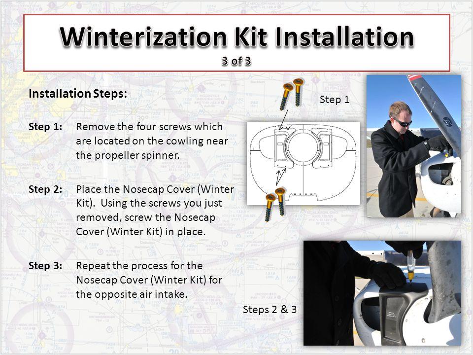 Winterization Kit Installation 3 of 3