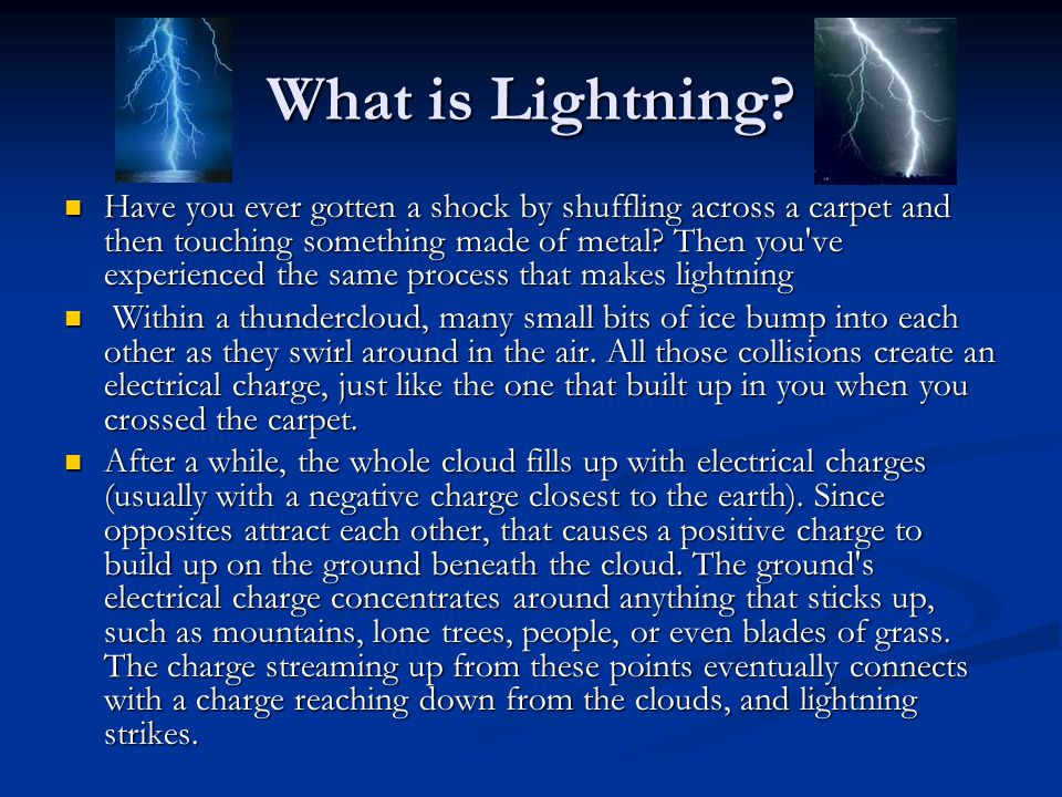 What is Lightning