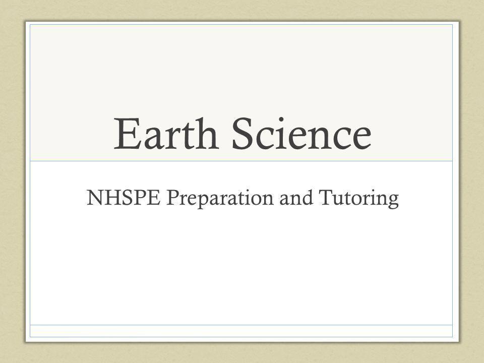 NHSPE Preparation and Tutoring