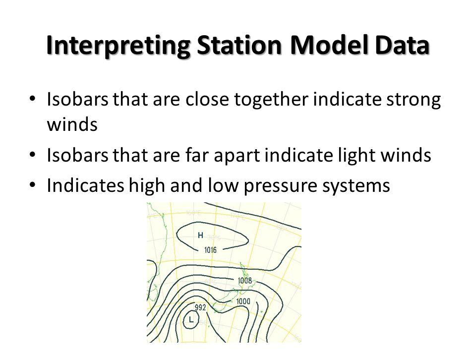 Interpreting Station Model Data