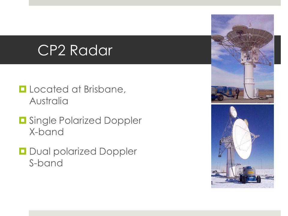 CP2 Radar Located at Brisbane, Australia