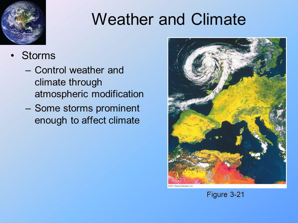 Weather and Climate Storms