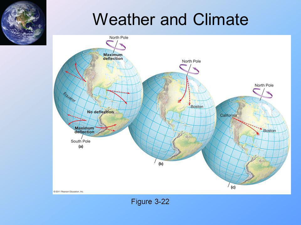 Weather and Climate Figure 3-22