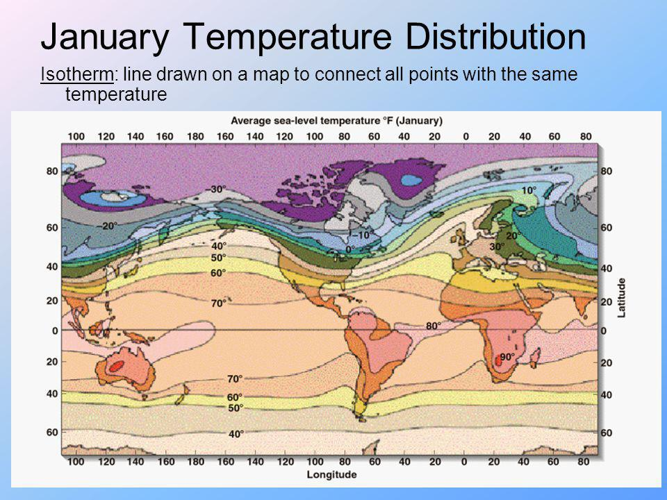 January Temperature Distribution