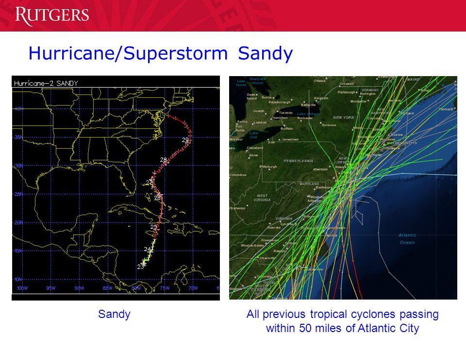 Hurricane/Superstorm Sandy