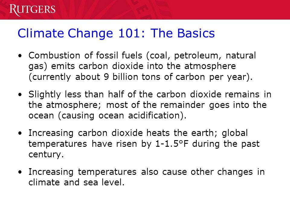 Climate Change 101: The Basics