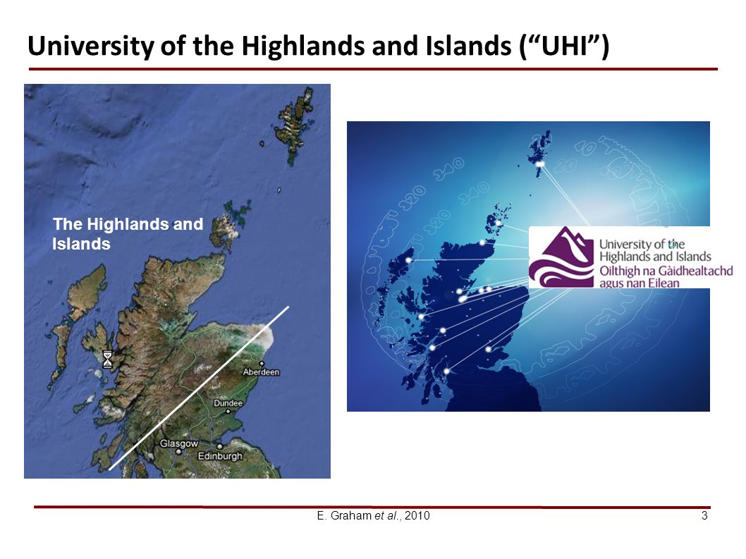 University of the Highlands and Islands ( UHI )