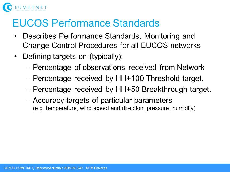 EUCOS Performance Standards