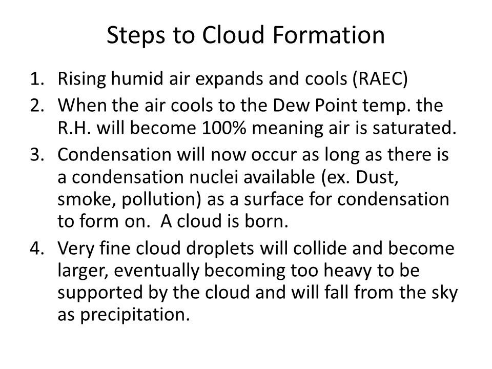 Steps to Cloud Formation