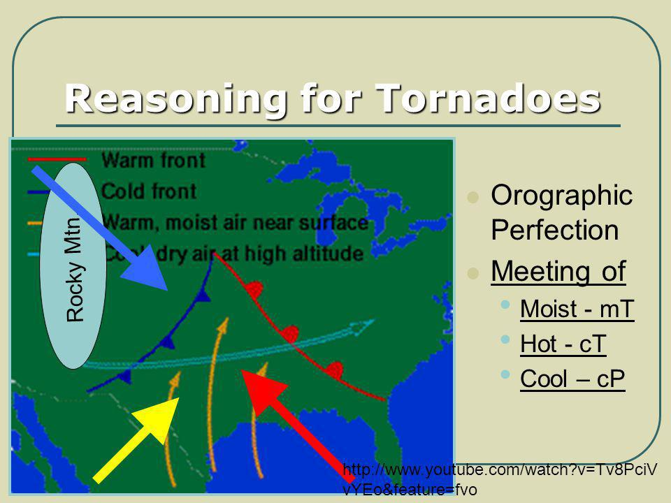 Reasoning for Tornadoes