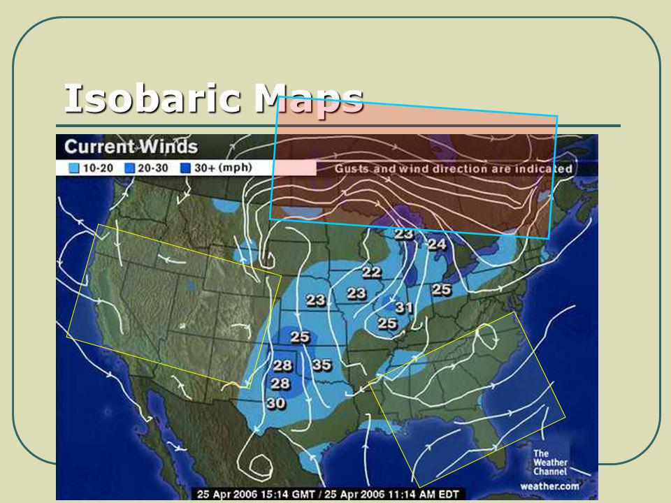 Isobaric Maps