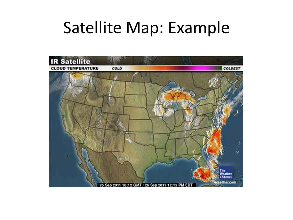 Satellite Map: Example