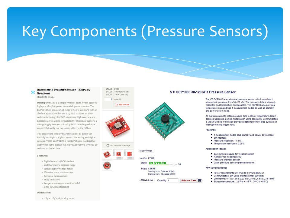 Key Components (Pressure Sensors)