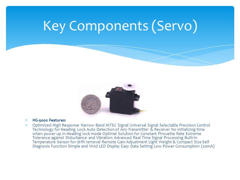 Key Components (Servo)