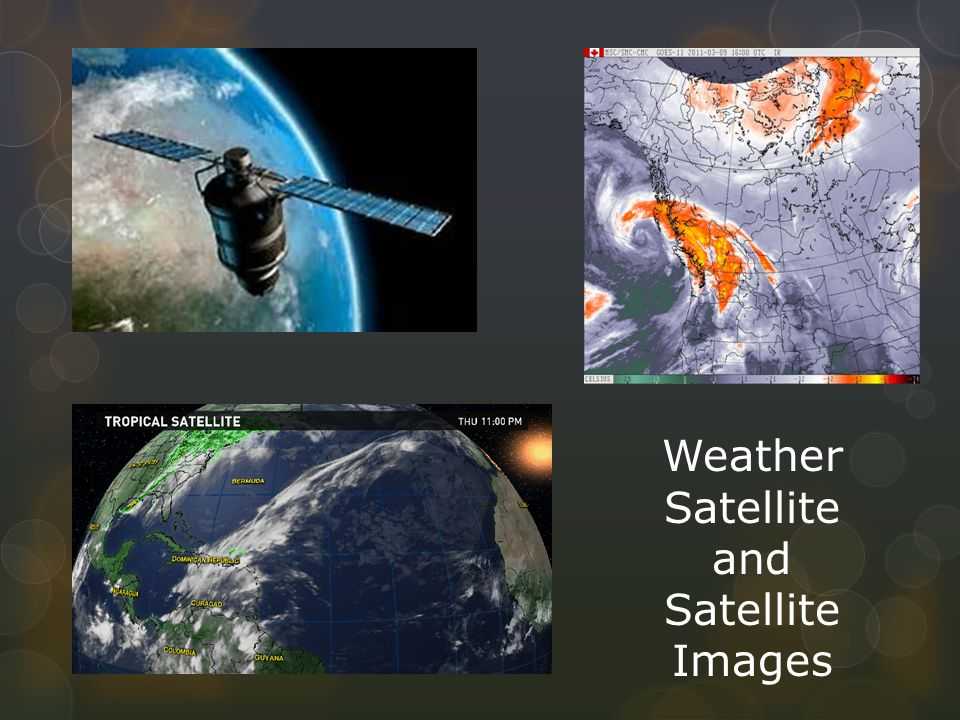 Weather Satellite and Satellite Images