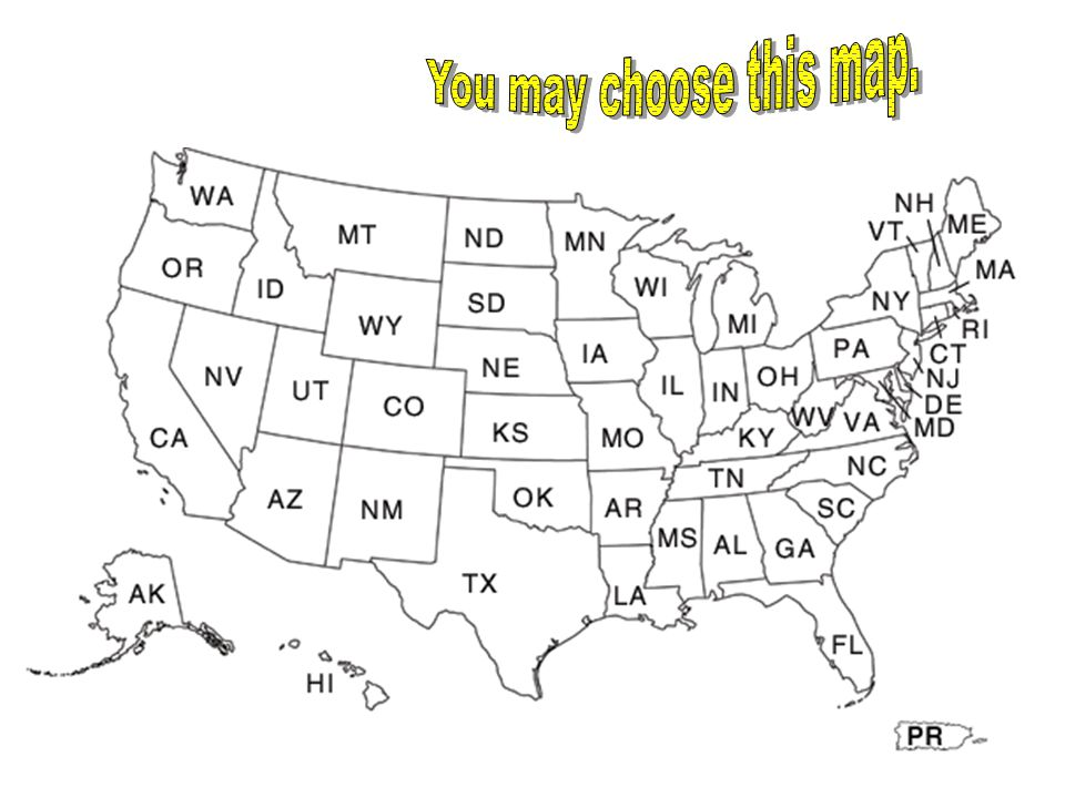 You may choose this map.