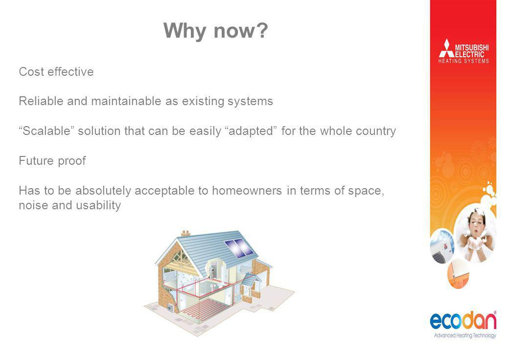 Why now Cost effective Reliable and maintainable as existing systems