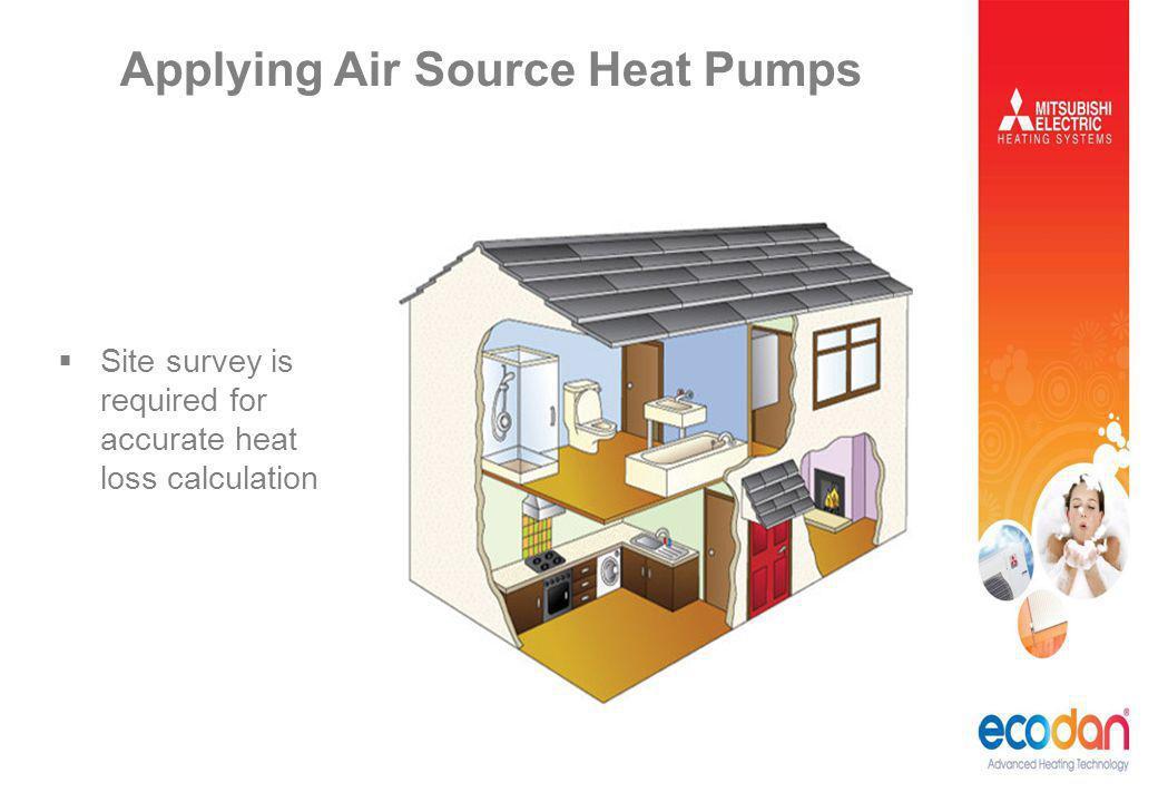 Applying Air Source Heat Pumps