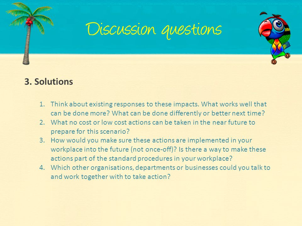 3. Solutions