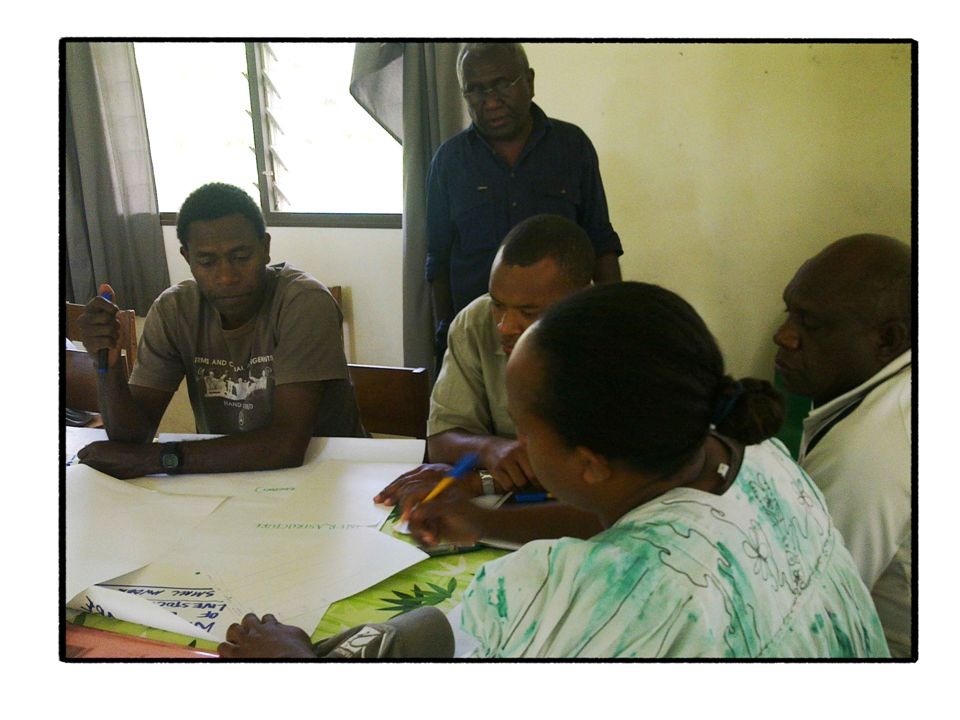 The Vanuatu Departments of Agriculture and Livestock have been working with the Vanuatu Meteorology and Geo-hazard Department to take early action.