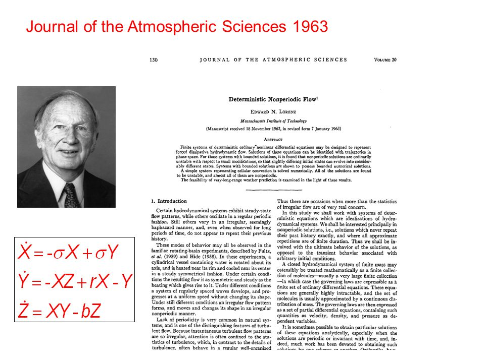 Journal of the Atmospheric Sciences 1963