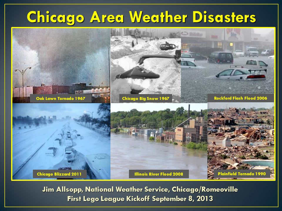 Chicago Area Weather Disasters